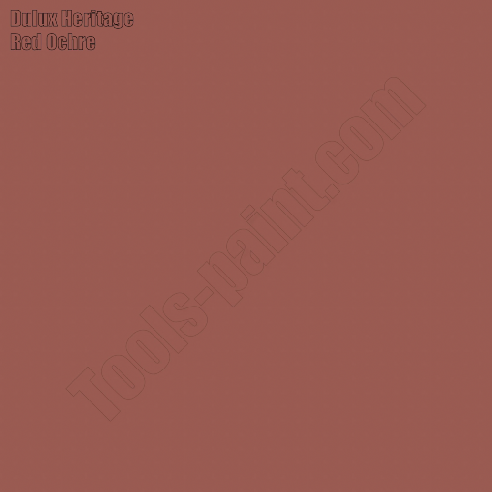Dulux Heritage Red Ochre
